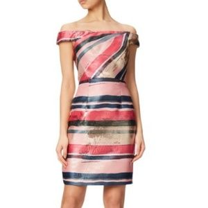 Adrianna Papell Off the shoulder dress, US2